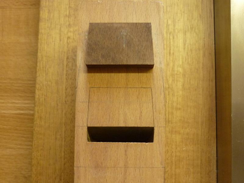 Restauration de rabots en bois. P1070627