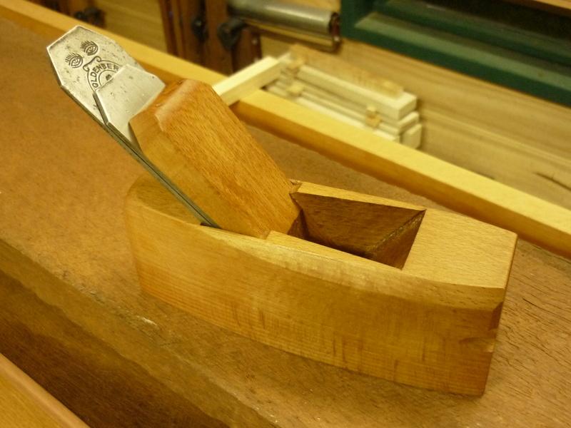 Restauration de rabots en bois. P1070726