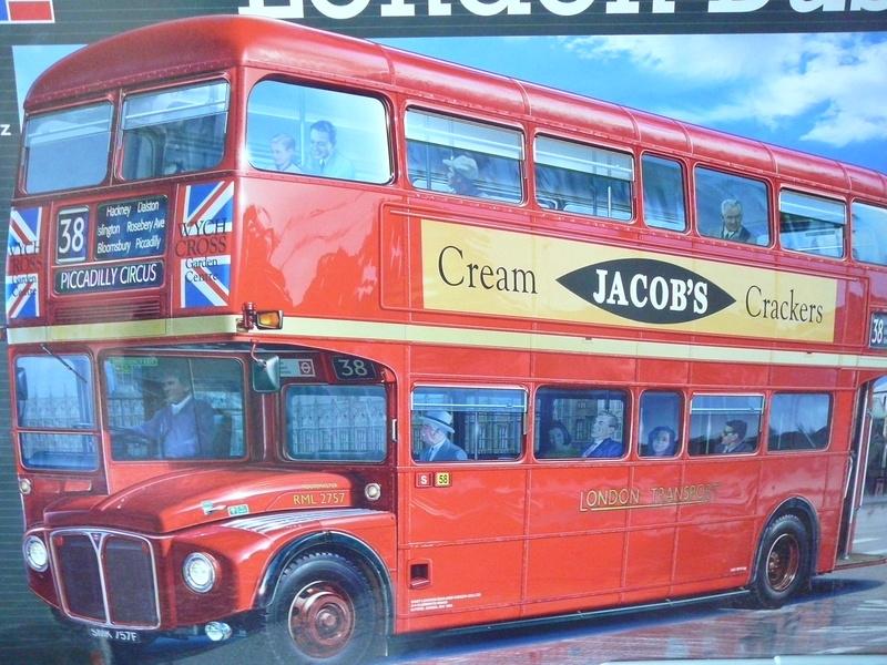 Bus à Impérial Londonien Bus111