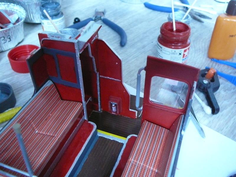 Bus à Impérial Londonien Bus1910