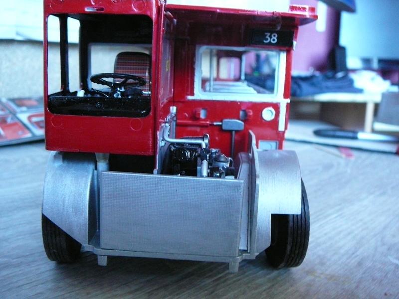Bus à Impérial Londonien Bus2210