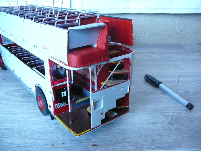 Bus à Impérial Londonien Bus2410
