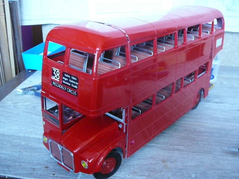 Bus à Impérial Londonien Bus2510
