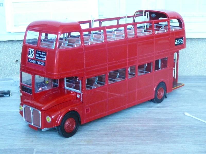 Bus à Impérial Londonien Bus2610