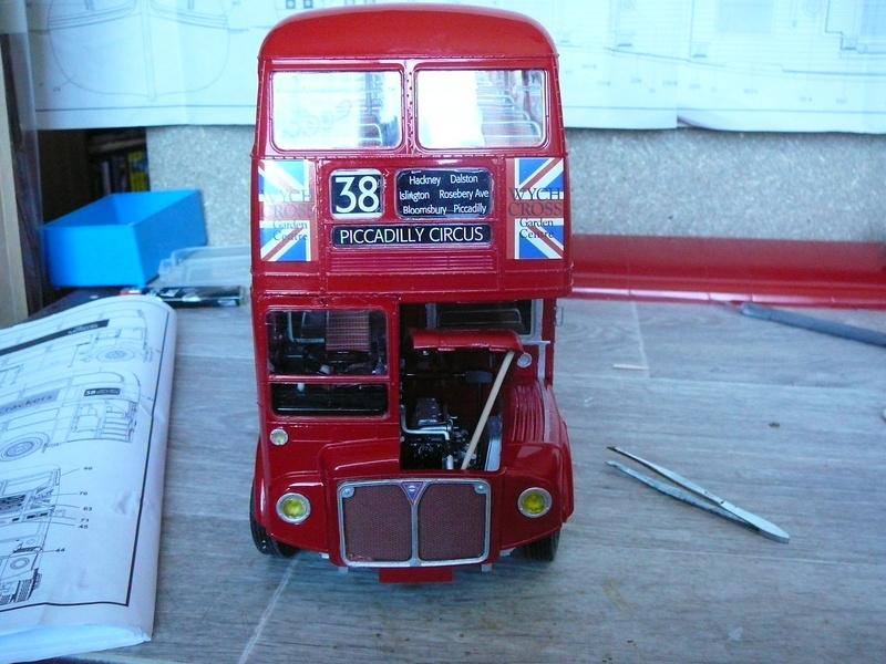 Bus à Impérial Londonien Bus2810