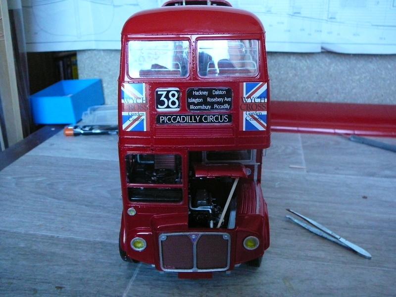Bus à Impérial Londonien Bus2910