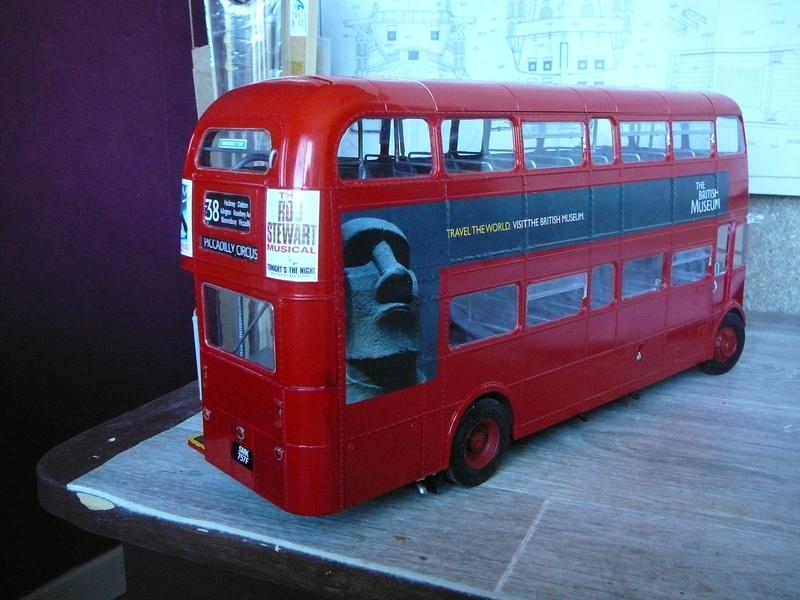 Bus à Impérial Londonien Bus3310