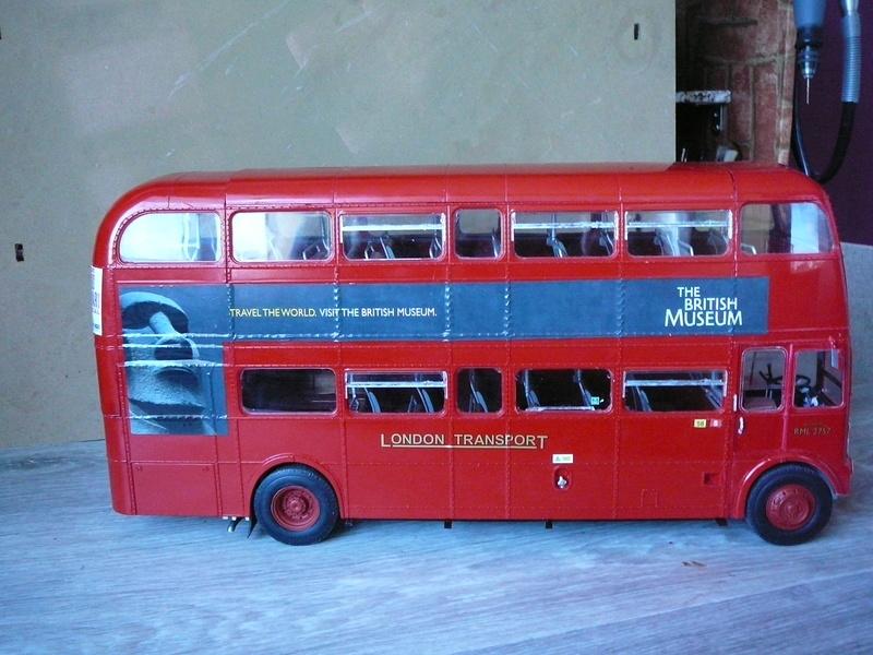 Bus à Impérial Londonien Bus3410