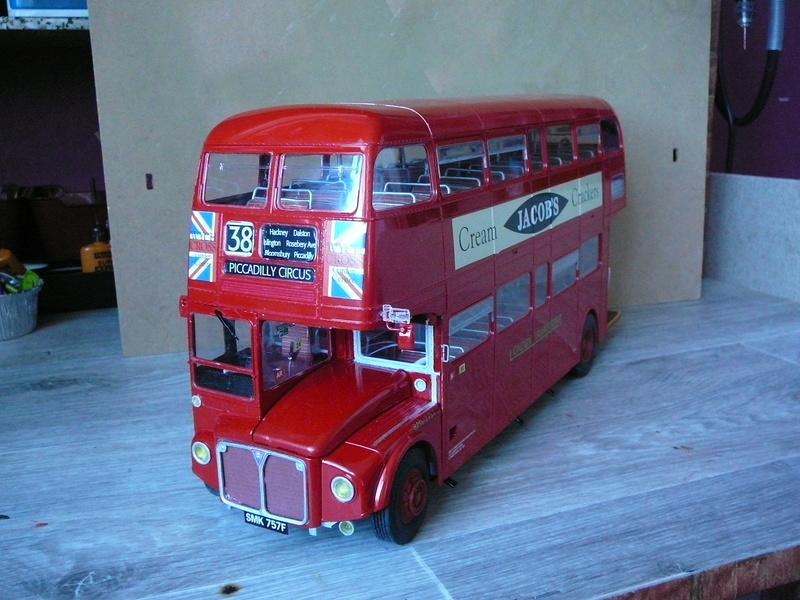 Bus à Impérial Londonien Bus3510