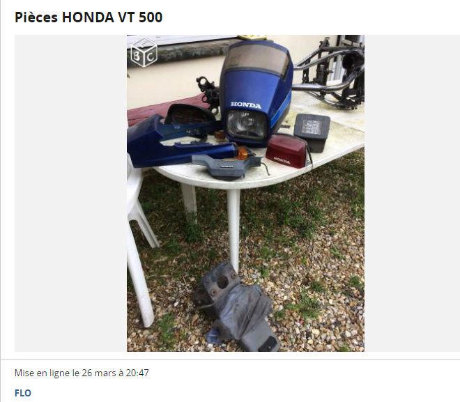 VT500E Pièces diverses à vendre 110