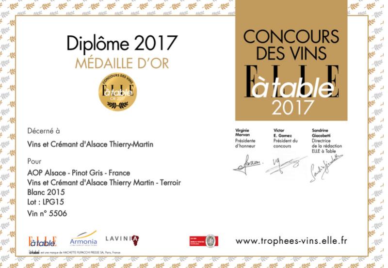 Vins et Crémant d'Alsace Thierry- Martin - Page 4 Diplom10