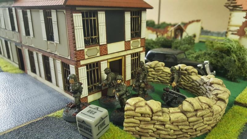 """partie du 15 avril : bolt action ( WW2 en 28 mm ) : 6 juin 1944 00h07 : opération """"deadstick"""" 20170413"""