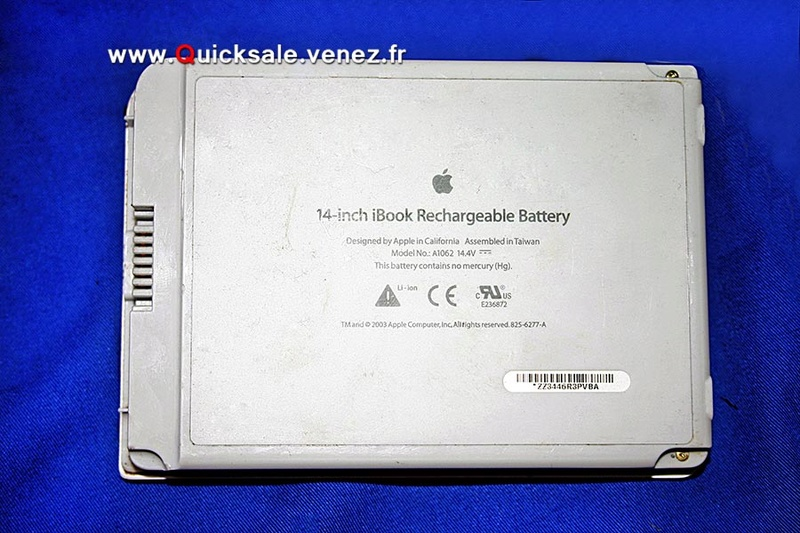 [VDS] Batterie (Apple A1062) pour Apple iBook G3 / G4. 25€ Applea11