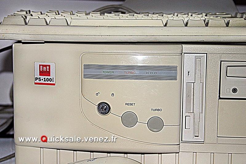 [VDS] Tour ordinateur   Brett Computer B5-100 Windows 95 -75€ Bcqs210
