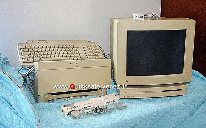 [VENDU] Apple Macintosh LC de 1990 plus... 40€ Qs113