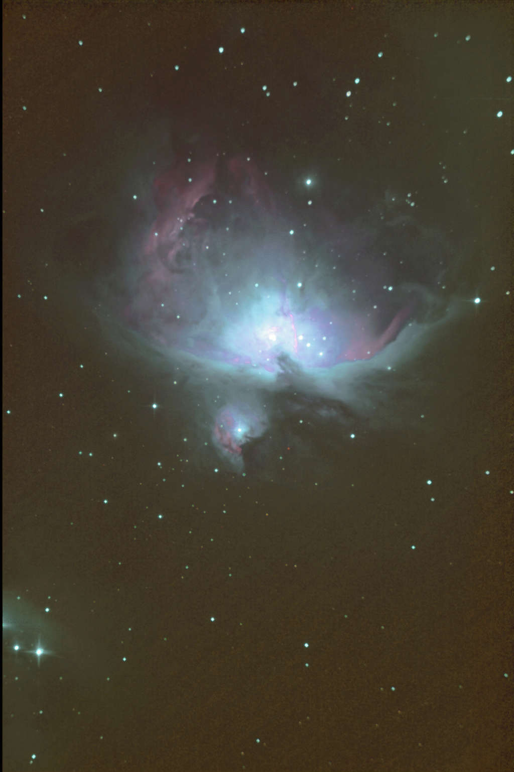 test newton 254 m42 240 x10s Orion10