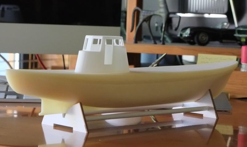 """Le """"Koningin Juliana"""" au 1/50 sur plans avec modélisation 3D Dscf4010"""