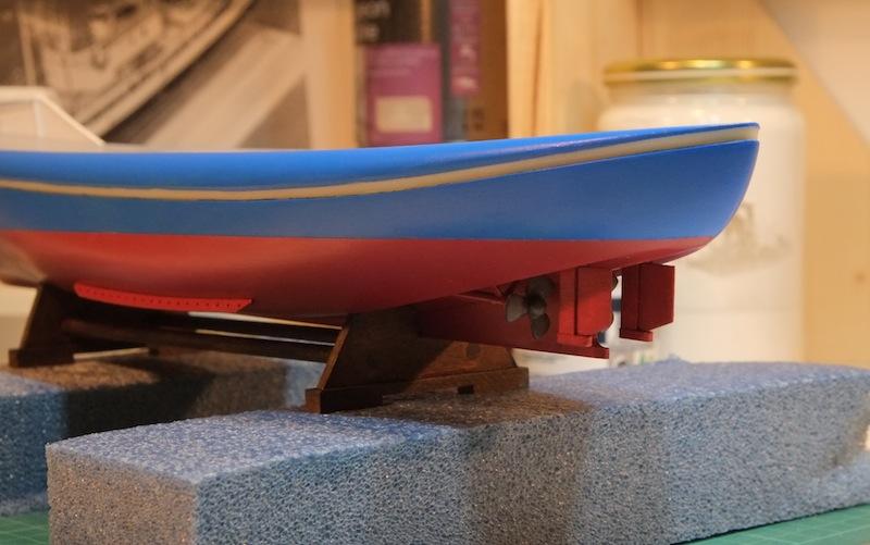 """Le """"Koningin Juliana"""" au 1/50 sur plans avec modélisation 3D Dscf4017"""