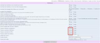 Mes premiers pas sur le forum Select10