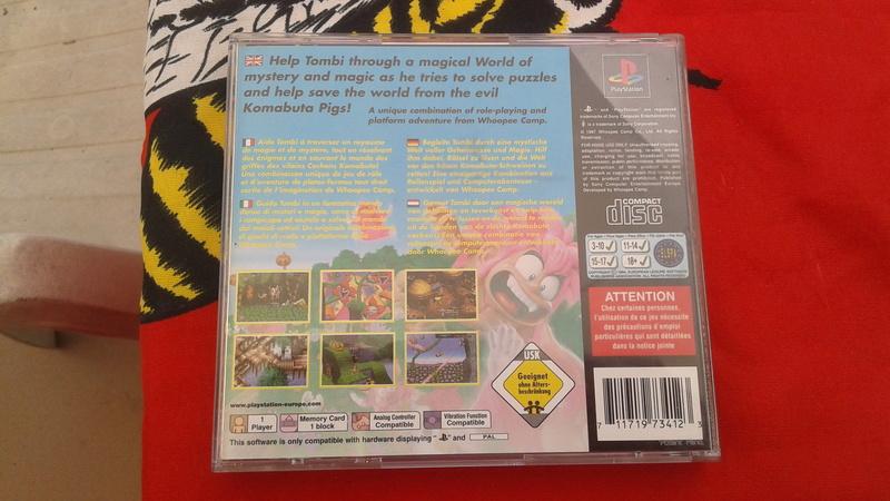 Rarissimo Tombi PS1 20170543