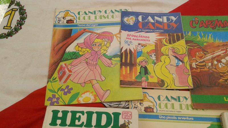Vari giornali libri anni 70 candy haidi altro 20170575