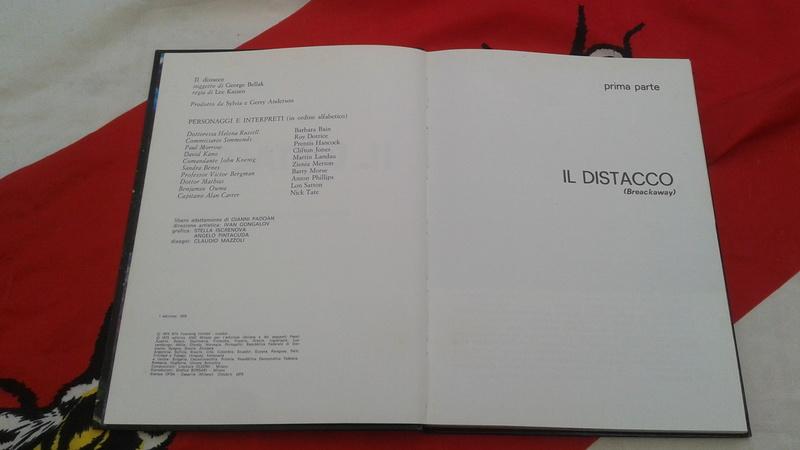 Spazio 1999 Il Distacco 1 edizione 1976 20170579