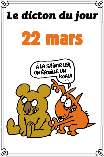dictons du jour et dictons humour de colette - Page 4 Dicton27