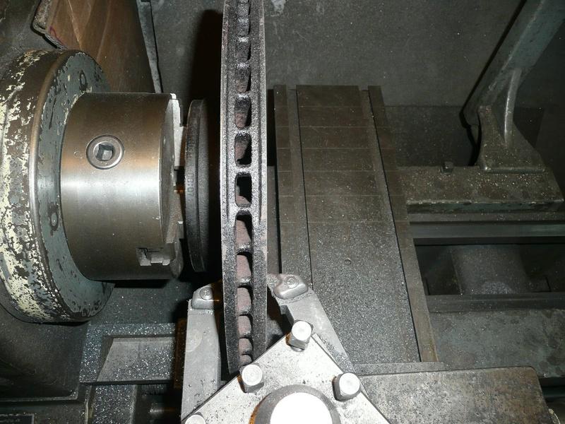 vibrations au freinage train avant Disc310