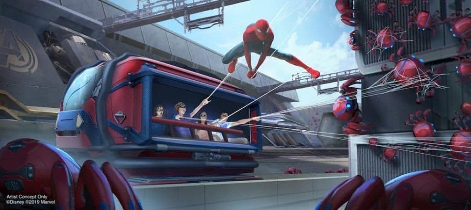 [Parc Walt Disney Studios] WEB SLINGERS: A Spider-Man Adventure (2021) - Page 5 173e1b10
