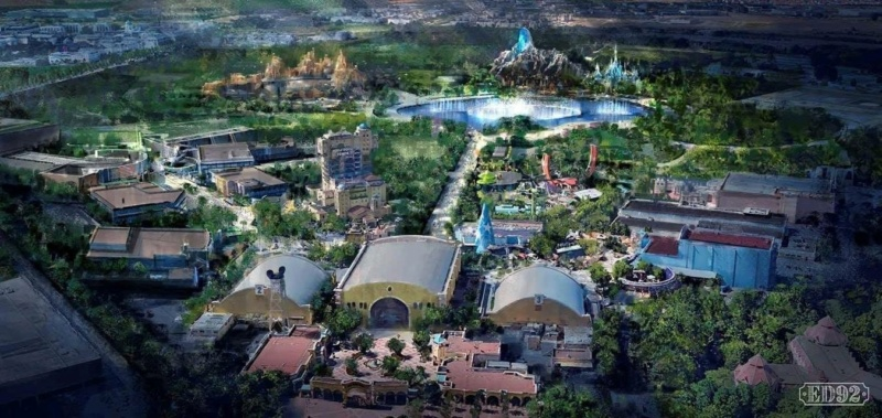 [News] Extension du Parc Walt Disney Studios avec nouvelles zones autour d'un lac (2020-2025) - Page 39 1aab6d10