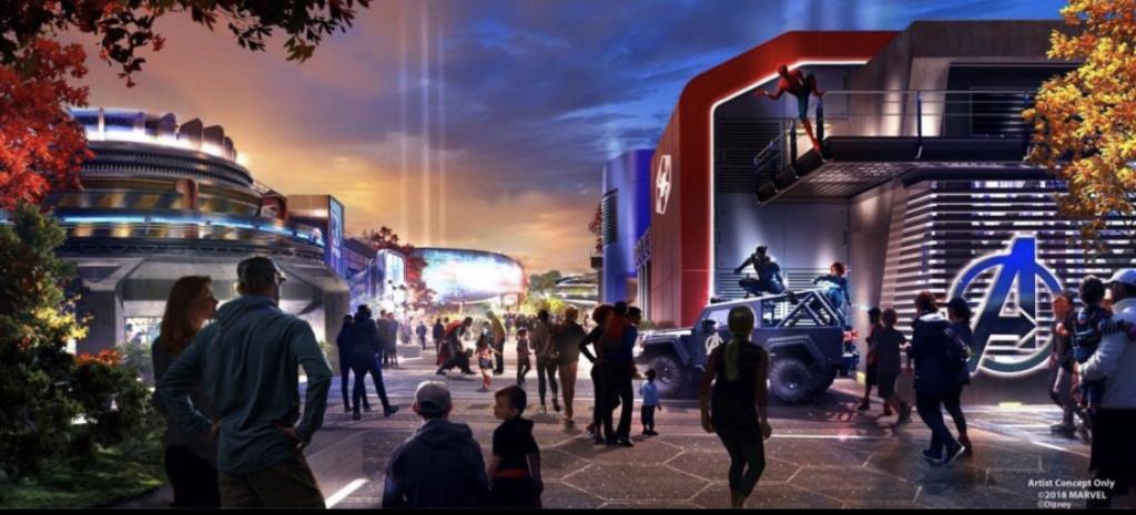 [Parc Walt Disney Studios] Nouvelle zone Marvel (2020 ou 2021) - Page 13 2fef9710