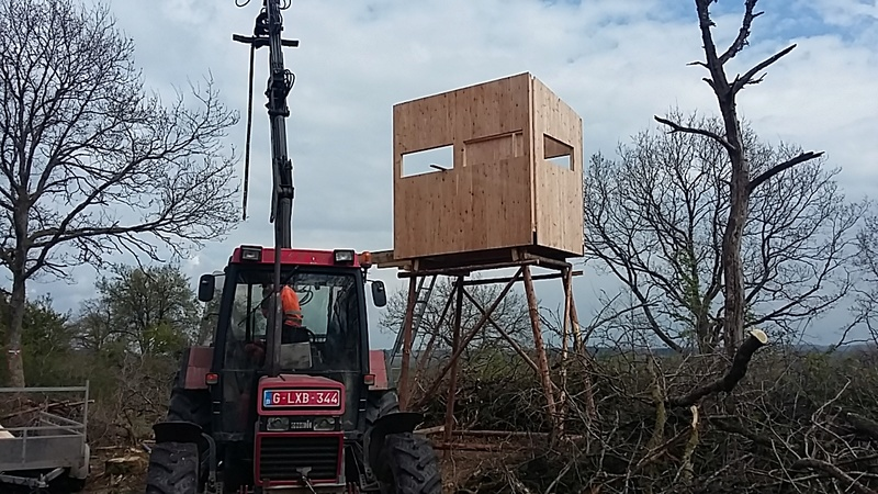Construction mirador affût  - Page 6 20170487