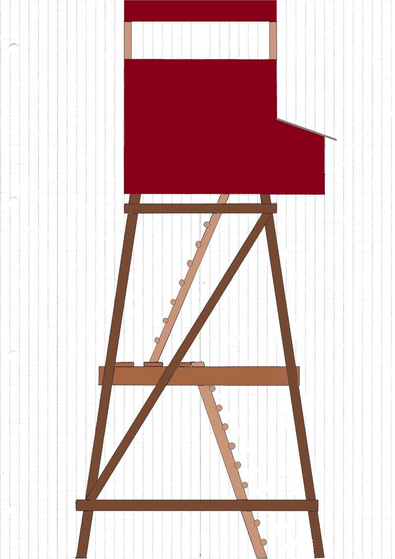 Construction mirador affût  - Page 2 Mirado10
