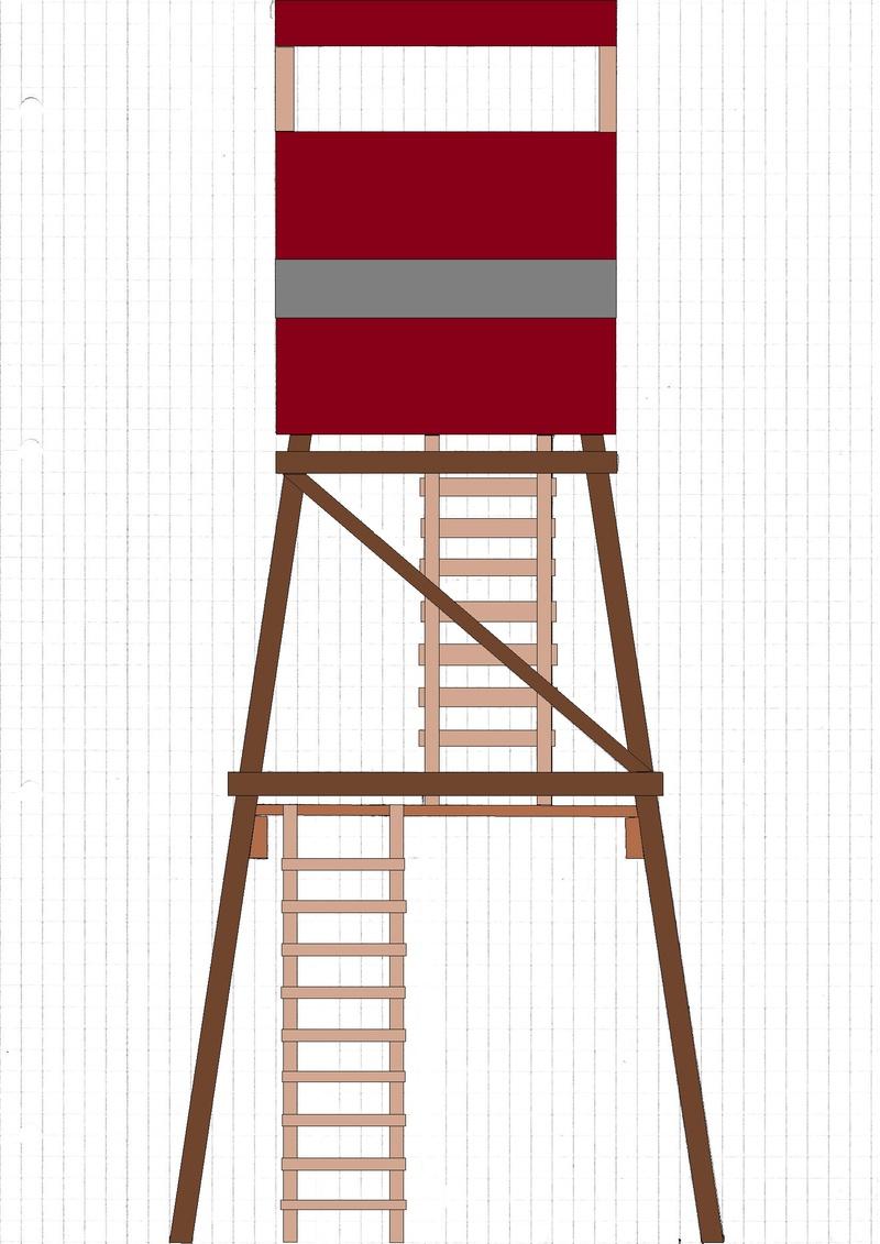 Construction mirador affût  - Page 2 Mirado11