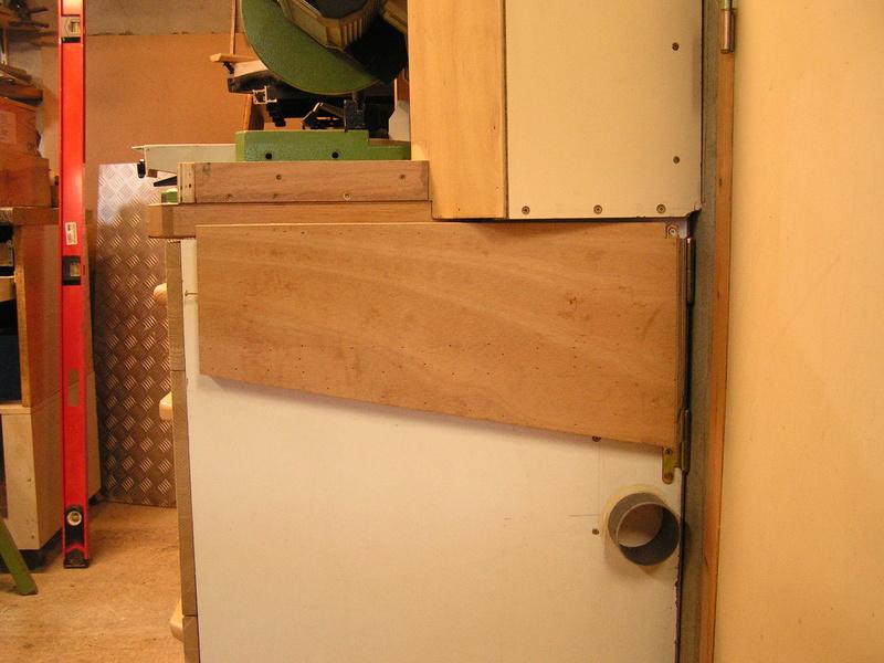 Un meuble caisson pour ma scie à onglet  00811