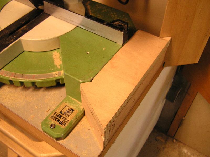 Un meuble caisson pour ma scie à onglet  00911