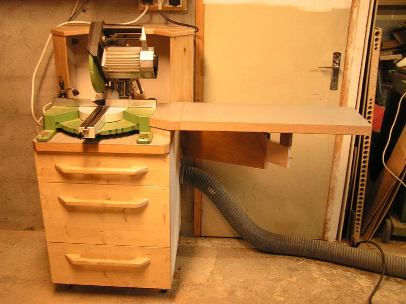 Un meuble caisson pour ma scie à onglet  01910