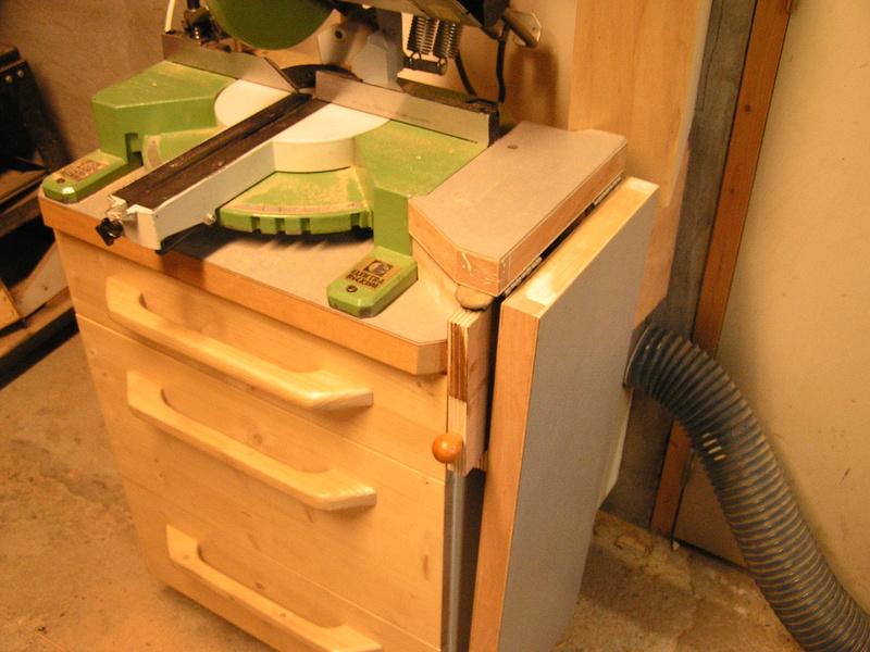 Un meuble caisson pour ma scie à onglet  02010