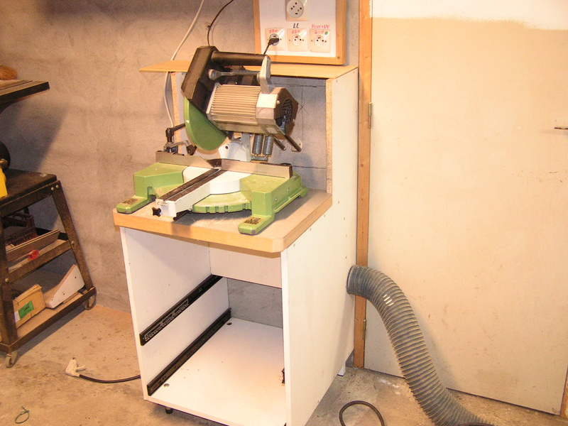 Un meuble caisson pour ma scie à onglet  Caison12
