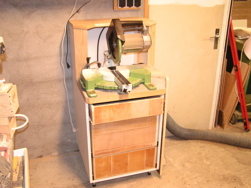Un meuble caisson pour ma scie à onglet  Caison14
