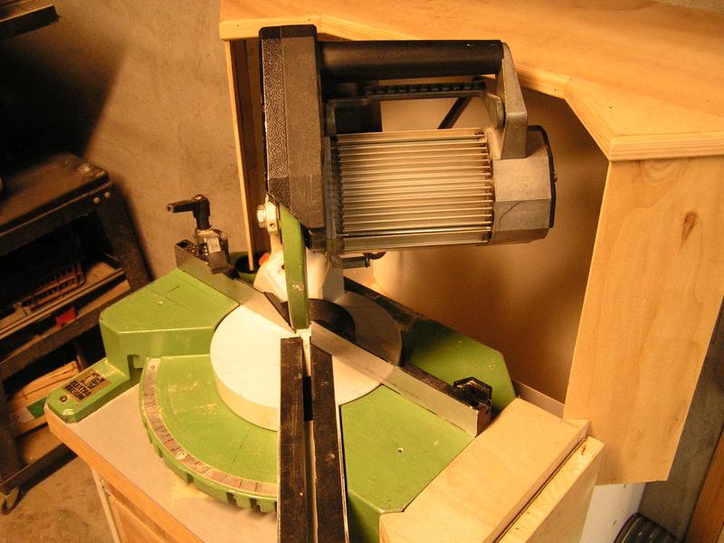 Un meuble caisson pour ma scie à onglet  Caison15