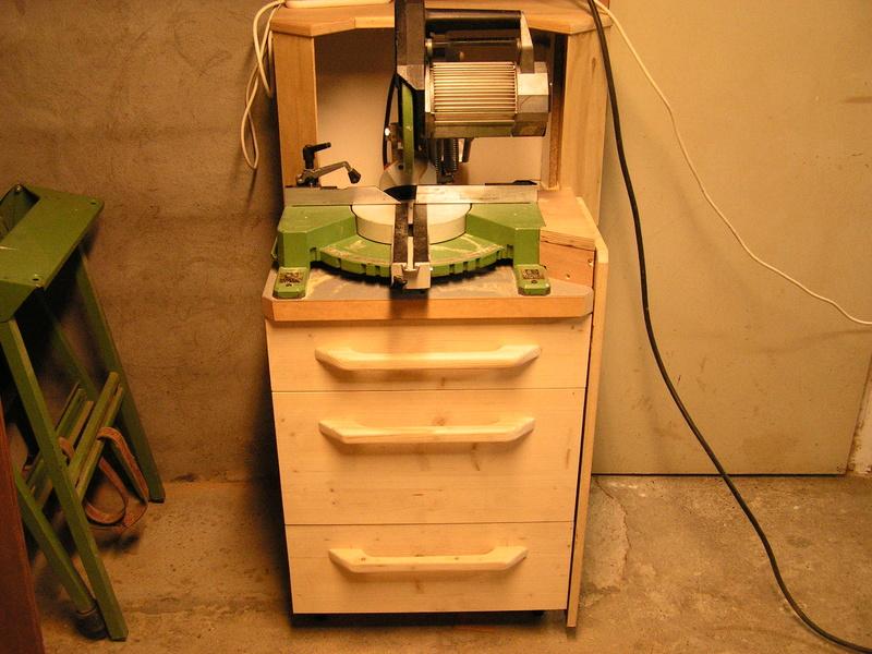 Un meuble caisson pour ma scie à onglet  Caison18