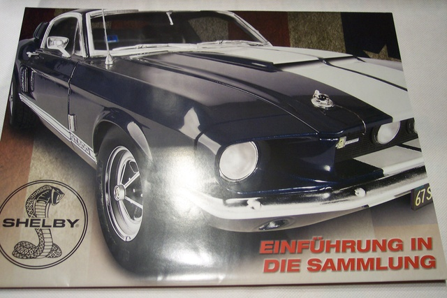 Ford Mustang Shelby 500 / DeAgostini, 1:8 100_2711
