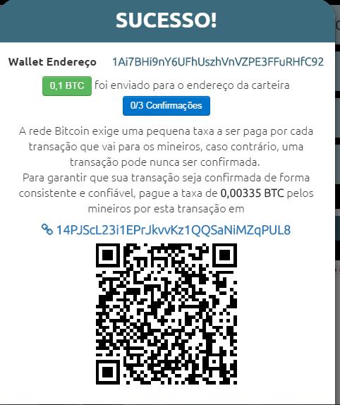 Geradores de bitcoins autmáticos são scams cuidado Screen17