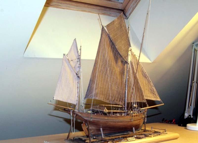 Modélisme Naval Le Radoub du Ponant - Portail Marie-10