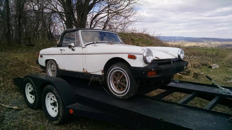 How a rusty 1963 Corvair turned into a slightly less rusty 1977 MG Midget Mg_mid10