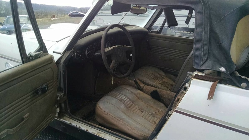 How a rusty 1963 Corvair turned into a slightly less rusty 1977 MG Midget Mg_mid11