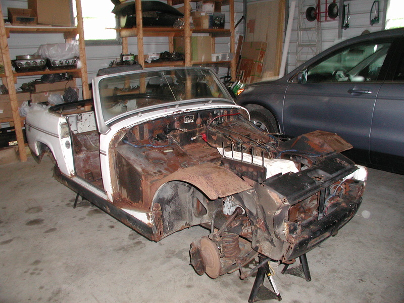 How a rusty 1963 Corvair turned into a slightly less rusty 1977 MG Midget Zs_tre10