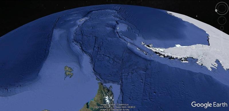 Activation des reliefs sur Google Earth 238
