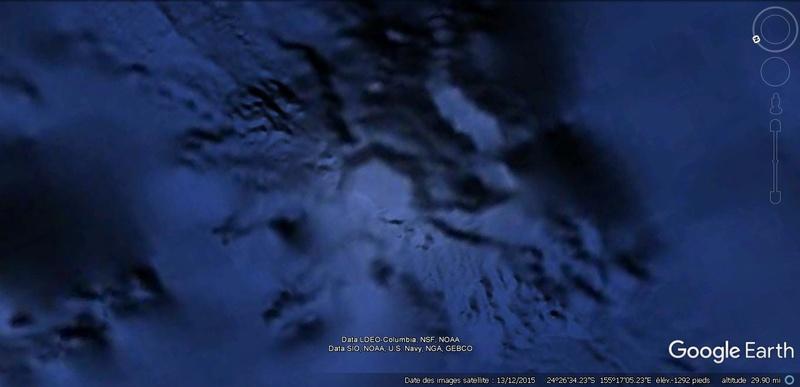 Activation des reliefs sur Google Earth 273